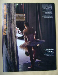 <!--2011-12-17-->Telegraph magazine - The Royal Ballet cover (17 December 2