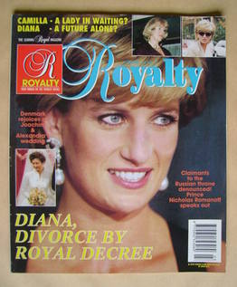 Royalty Monthly magazine - Princess Diana cover (Vol.14 No.3)