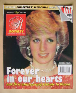 Royalty Monthly magazine - Princess Diana cover (Vol.15 No.6)