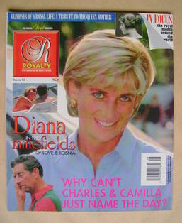 Royalty Monthly magazine - Princess Diana cover (Vol.14 No.9)