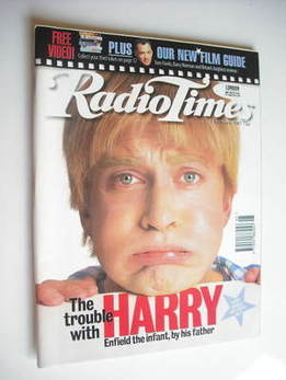 <!--1997-02-01-->Radio Times magazine - Harry Enfield cover (1-7 February 1