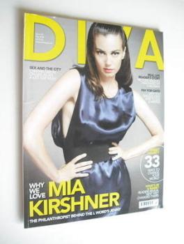 Diva magazine - Mia Kirshner cover (May 2008 - Issue 144)