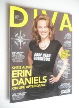 Diva magazine - Erin Daniels cover (March 2008 - Issue 142)