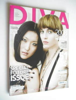 Diva magazine - Special Future Issue (January 2008 - Issue 140)