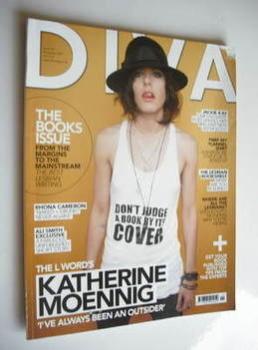 Diva magazine - Katherine Moennig cover (November 2007 - Issue 138)