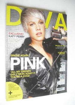 Diva magazine - Pink cover (December 2008 - Issue 151)