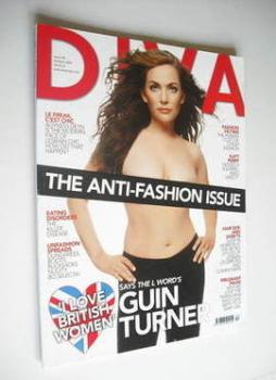 Diva magazine - Guinevere Turner cover (October 2008 - Issue 149)