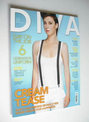 Diva magazine - Sue Perkins cover (July 2008 - Issue 146)