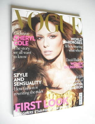 <!--2009-02-->British Vogue magazine - February 2009 - Cheryl Cole cover