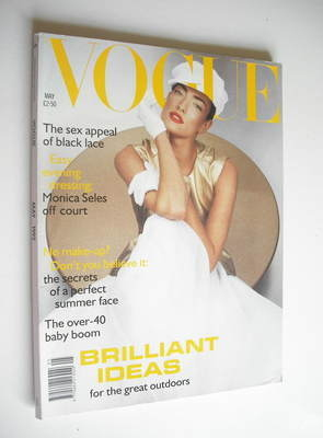 <!--1992-05-->British Vogue magazine - May 1992 - Tatjana Patitz cover
