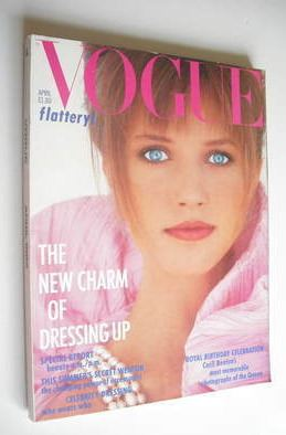<!--1986-04-->British Vogue magazine - April 1986