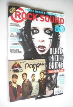 Rock Sound magazine - Black Veil Brides cover (January 2012)