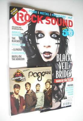 <!--2012-01-->Rock Sound magazine - Black Veil Brides cover (January 2012)