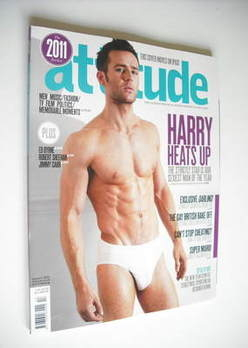 <!--2012-01-->Attitude magazine - Harry Judd cover (January 2012)