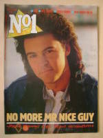 <!--1986-01-11-->No 1 Magazine - Paul Young cover (11 January 1986)