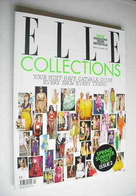 <!--2007-04-->British Elle Collections magazine (Spring/Summer 2007)