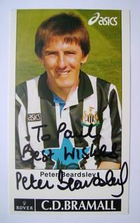 Peter Beardsley autograph
