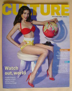 <!--2012-02-19-->Culture magazine - Freida Pinto cover (19 February 2012)