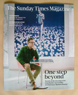 <!--2012-02-19-->The Sunday Times magazine - Matthew Bourne cover (19 Febru