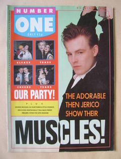 NUMBER ONE Magazine - Mark Shaw cover (7 November 1987)