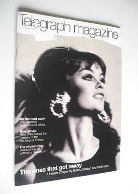 <!--2002-10-12-->Telegraph magazine - Jean Shrimpton cover (12 October 2002