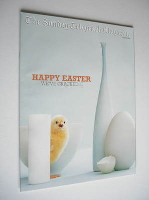 The Sunday Telegraph magazine - Happy Easter cover (20 April 2003)