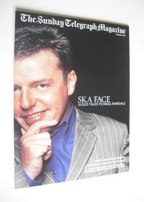 The Sunday Telegraph magazine - Suggs cover (6 October 2002)