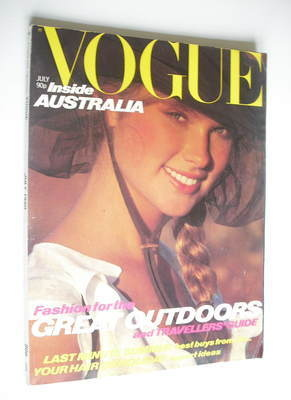 <!--1980-07-->British Vogue magazine - July 1980 (Vintage Issue)