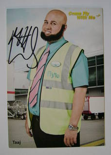Matt Lucas autographed photo