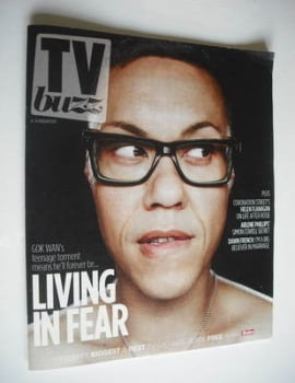 TV Buzz magazine - Gok Wan cover (4 February 2012)
