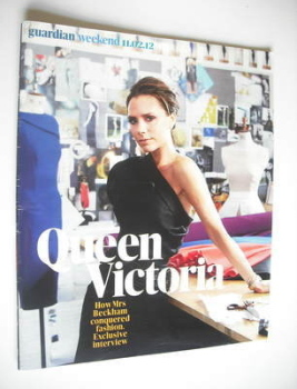 The Guardian Weekend magazine - 11 February 2012 - Victoria Beckham cover