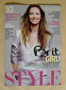 Style magazine - Cecilia Chancellor cover (19 February 2012)