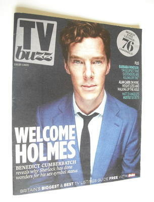 TV Buzz magazine - Benedict Cumberbatch cover (31 December 2011)