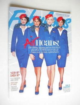 Fabulous magazine - TOWIE Girls cover (28 January 2012)