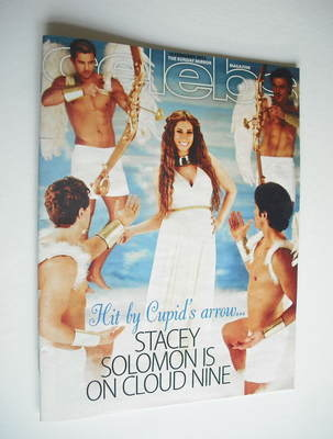 <!--2012-02-19-->Celebs magazine - Stacey Solomon cover (19 February 2012)