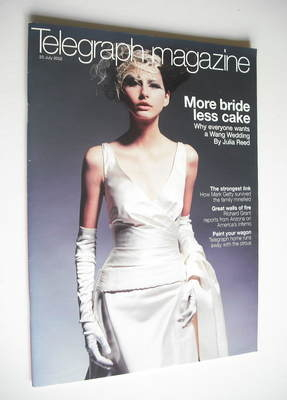 <!--2002-07-20-->Telegraph magazine - More Bride Less Cake cover (20 July 2