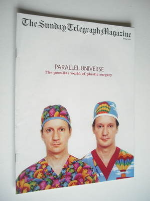 The Sunday Telegraph magazine - Parallel Universe cover (8 May 2005)