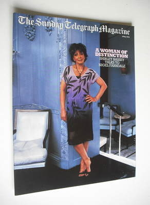 The Sunday Telegraph magazine - Shirley Bassey cover (4 May 2003)