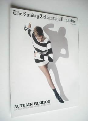 The Sunday Telegraph magazine - Agyness Deyn cover (24 August 2003)