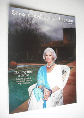 The Sunday Telegraph magazine - April Ashley cover (17 April 2005)