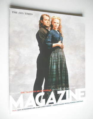 <!--2003-12-06-->The Times magazine - Jude Law and Nicole Kidman cover (6 D