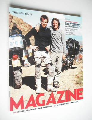 <!--2004-10-02-->The Times magazine - Ewan McGregor and Charley Boorman cov