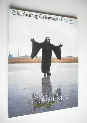 The Sunday Telegraph magazine - Scare In The Community cover (17 November 2