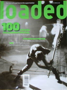 <!--2000-01-->Loaded magazine - The Clash cover (January 2000)