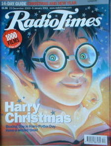 <!--2000-12-23-->Radio Times magazine - Harry Potter cover (23 December 200