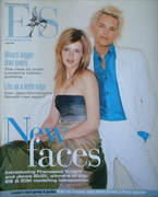 <!--2004-04-02-->Evening Standard magazine - Francesca Knight and Jonas Eklof cover (2 April 2004)