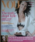 <!--2007-08-12-->You magazine - Dannii Minogue cover (12 August 2007)