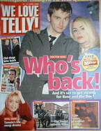 <!--2006-04-15-->We Love Telly magazine - David Tennant & Billie Piper cover (15-21 April 2006)