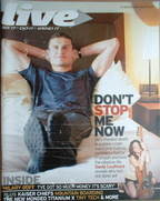 <!--2007-08-19-->Live magazine - David Coulthard cover (19 August 2007)