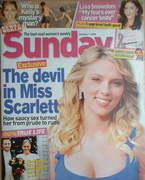 <!--2006-10-01-->Sunday magazine - 1 October 2006 - Scarlett Johansson cove